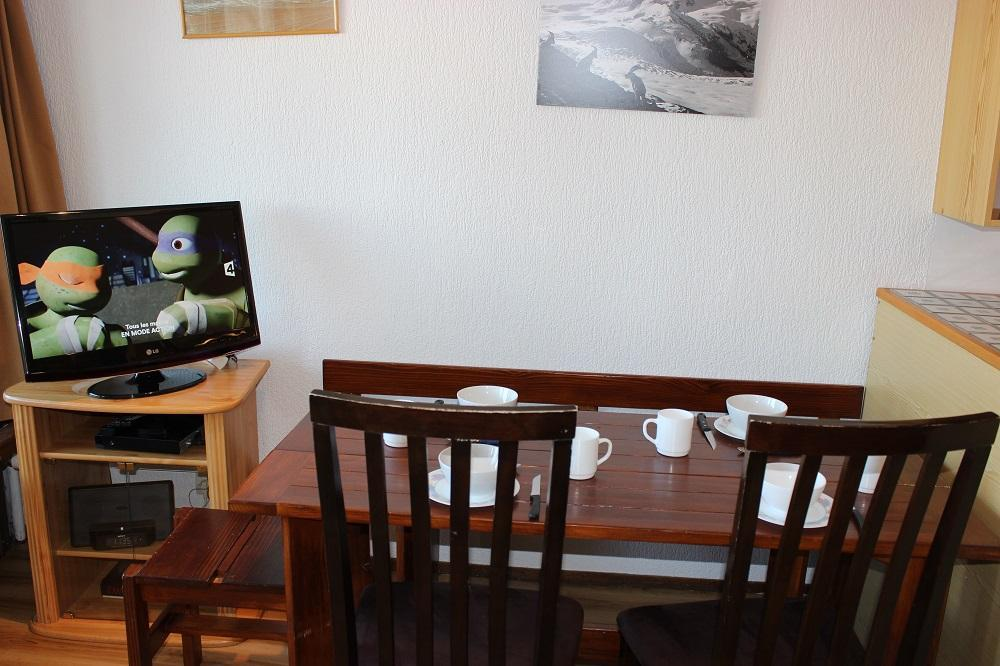 Location au ski Studio 4 personnes (66) - Residence Neves - Val Thorens - Table