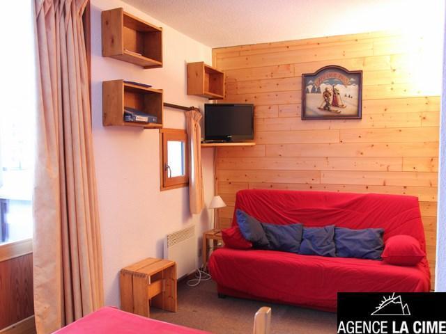 Location au ski Appartement 2 pièces 4 personnes (21) - Residence Orsiere - Val Thorens - Lits superposés