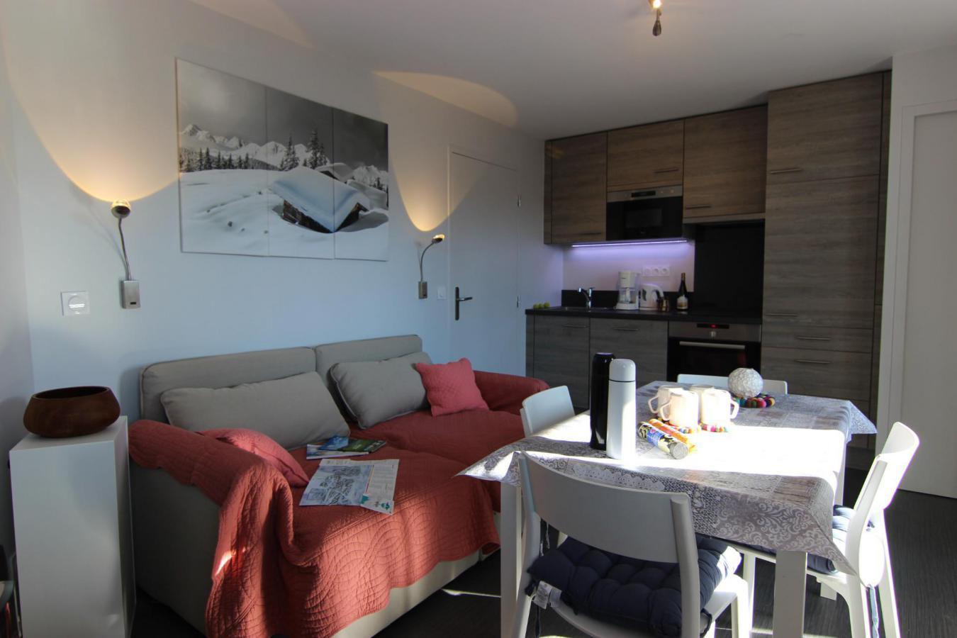 Location au ski Appartement 2 pièces 4 personnes (52) - Residence Reine Blanche - Val Thorens - Fauteuil