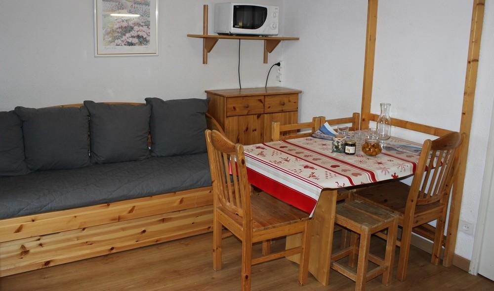 Location au ski Appartement 2 pièces cabine 4 personnes (21) - Residence Reine Blanche - Val Thorens - Kitchenette
