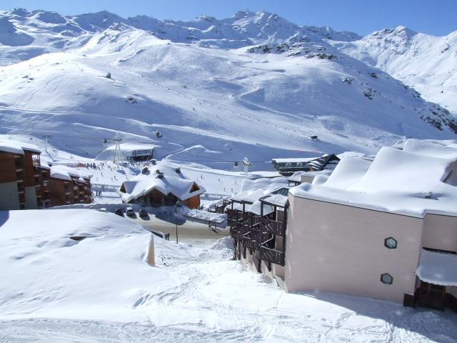 Location au ski Appartement 2 pièces cabine 4 personnes (58) - Residence Reine Blanche - Val Thorens - Table
