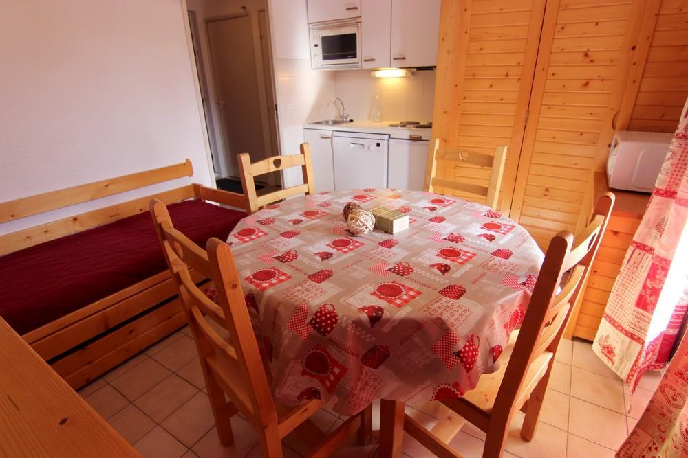Location au ski Appartement 2 pièces cabine 4 personnes (77) - Residence Reine Blanche - Val Thorens - Table