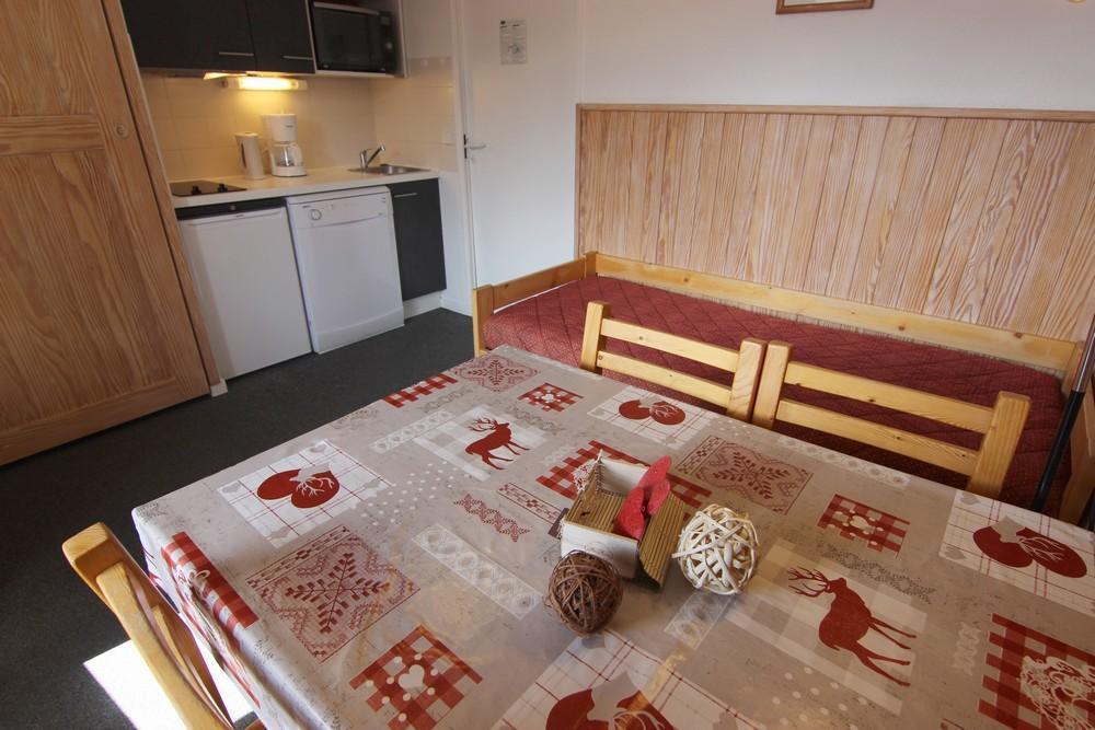 Location au ski Appartement 2 pièces cabine 4 personnes (94) - Residence Reine Blanche - Val Thorens - Canapé