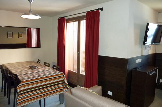 Location au ski Appartement duplex 4 pièces 8 personnes (114) - Residence Reine Blanche - Val Thorens - Séjour