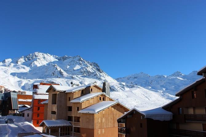 Location au ski Appartement 2 pièces mezzanine 6 personnes (100) - Residence Reine Blanche - Val Thorens - Extérieur hiver