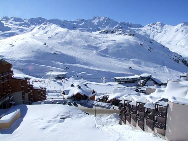 Location au ski Appartement 2 pièces cabine 4 personnes (77) - Residence Reine Blanche - Val Thorens - Extérieur hiver