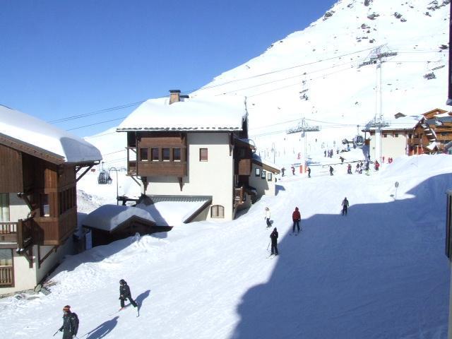 Location au ski Appartement 2 pièces cabine 4 personnes (35) - Residence Reine Blanche - Val Thorens - Extérieur hiver