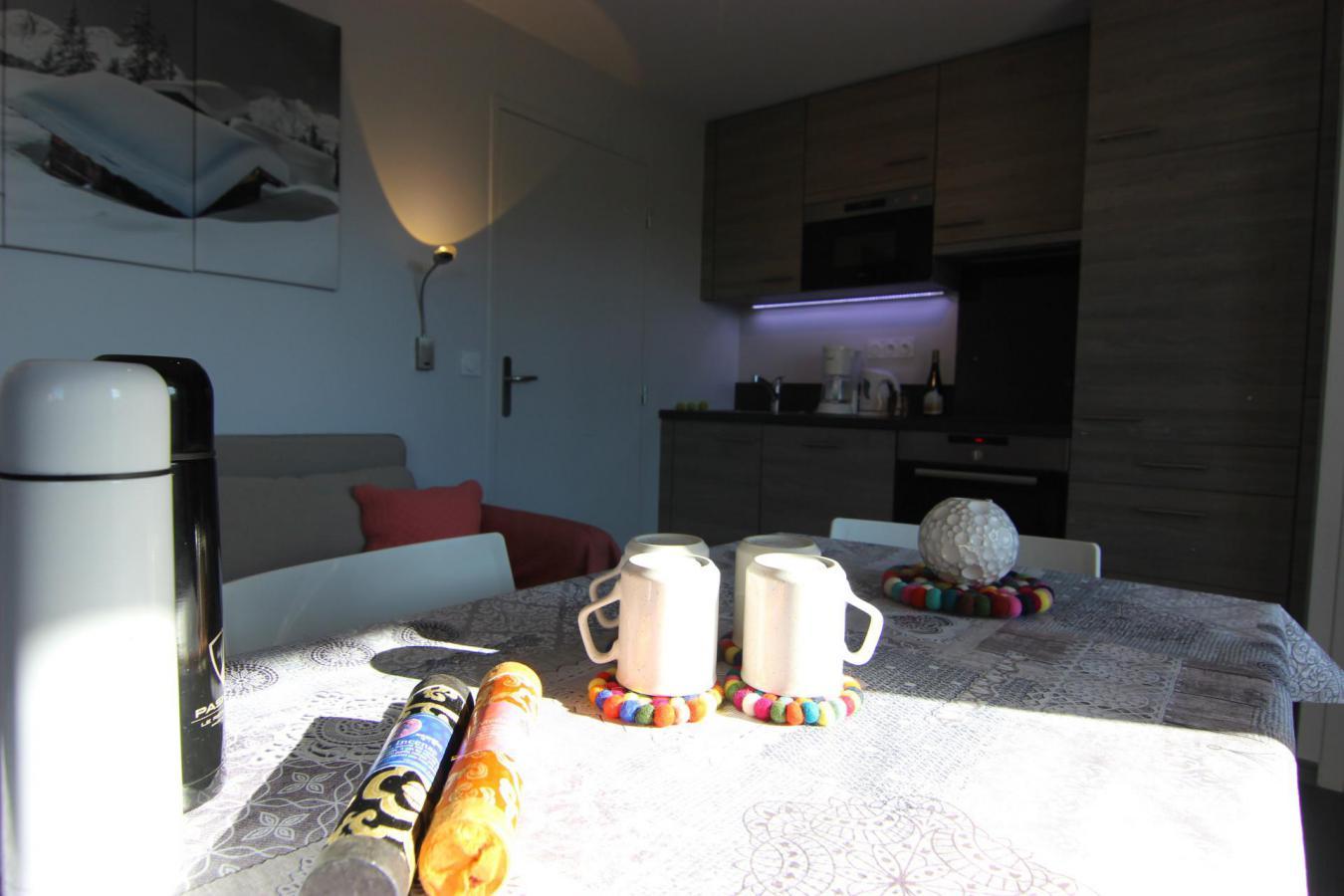 Location au ski Appartement 2 pièces 4 personnes (52) - Residence Reine Blanche - Val Thorens - Extérieur hiver