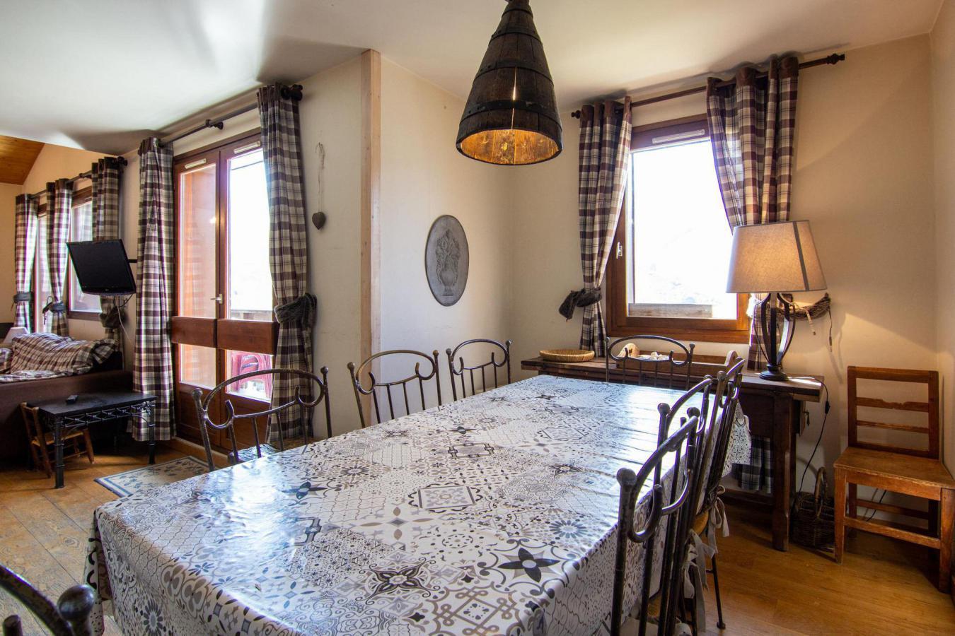 Location au ski Appartement duplex 4 pièces 8 personnes (97) - Residence Reine Blanche - Val Thorens - Plan