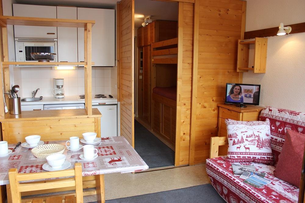 Location au ski Studio 3 personnes (67) - Residence Reine Blanche - Val Thorens - Séjour
