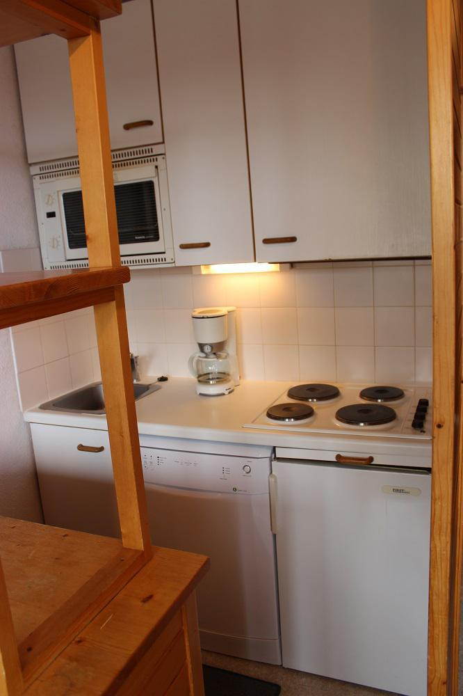 Location au ski Studio 3 personnes (67) - Residence Reine Blanche - Val Thorens - Table
