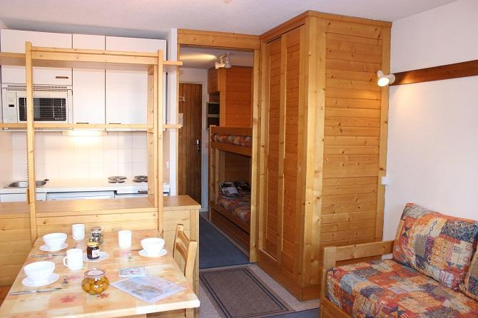 Location au ski Studio 3 personnes (82) - Residence Reine Blanche - Val Thorens - Kitchenette