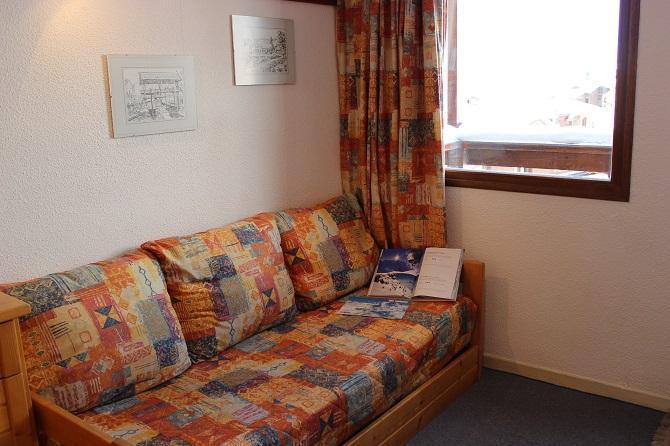Location au ski Studio 3 personnes (85) - Residence Reine Blanche - Val Thorens - Canapé