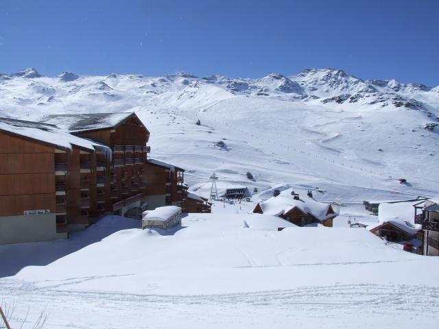 Location au ski Studio cabine 4 personnes (11) - Residence Reine Blanche - Val Thorens - Canapé