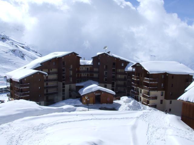 Location au ski Studio cabine 4 personnes (11) - Residence Reine Blanche - Val Thorens - Kitchenette