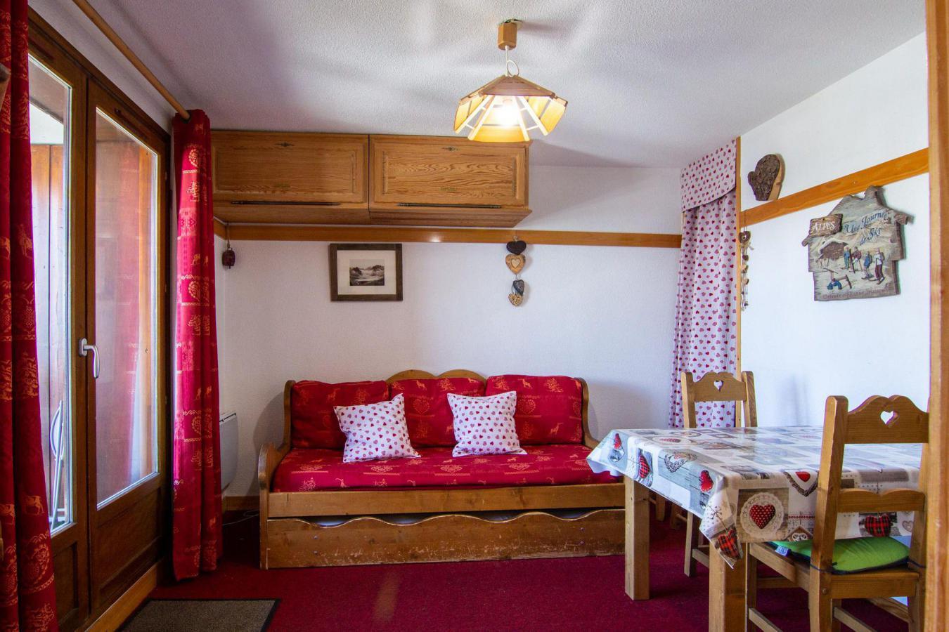 Location au ski Studio cabine 4 personnes (86) - Residence Reine Blanche - Val Thorens - Chambre