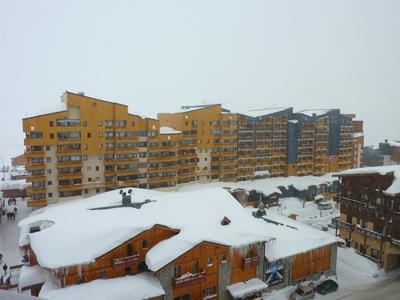 Location au ski Appartement 2 pièces mezzanine 6 personnes (75) - Residence Roche Blanche - Val Thorens - Lit mezzanine double