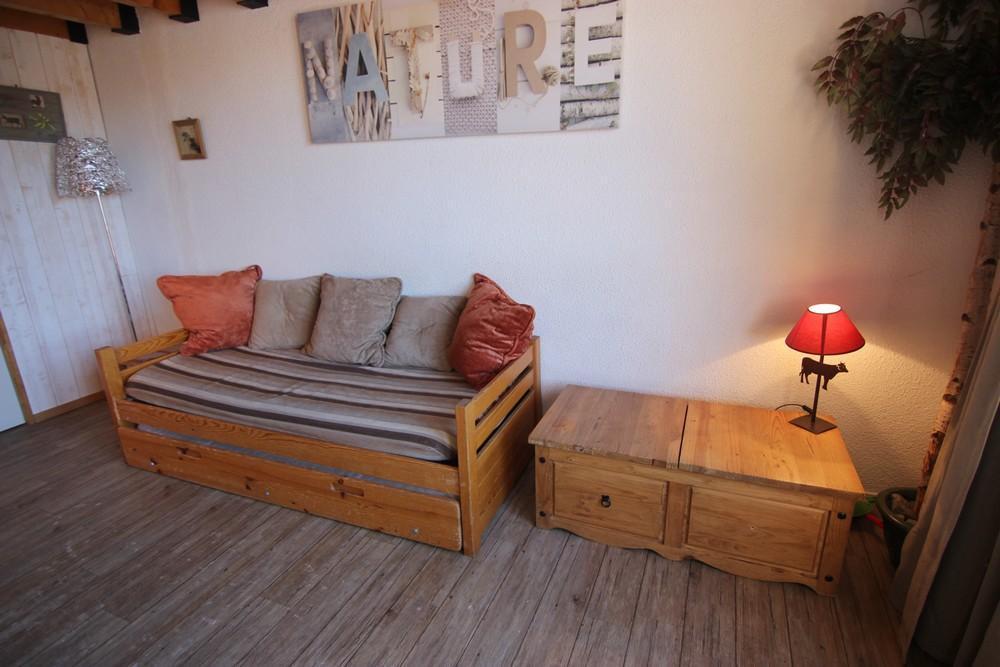 Location au ski Appartement 2 pièces mezzanine 6 personnes (75) - Residence Roche Blanche - Val Thorens - Table basse