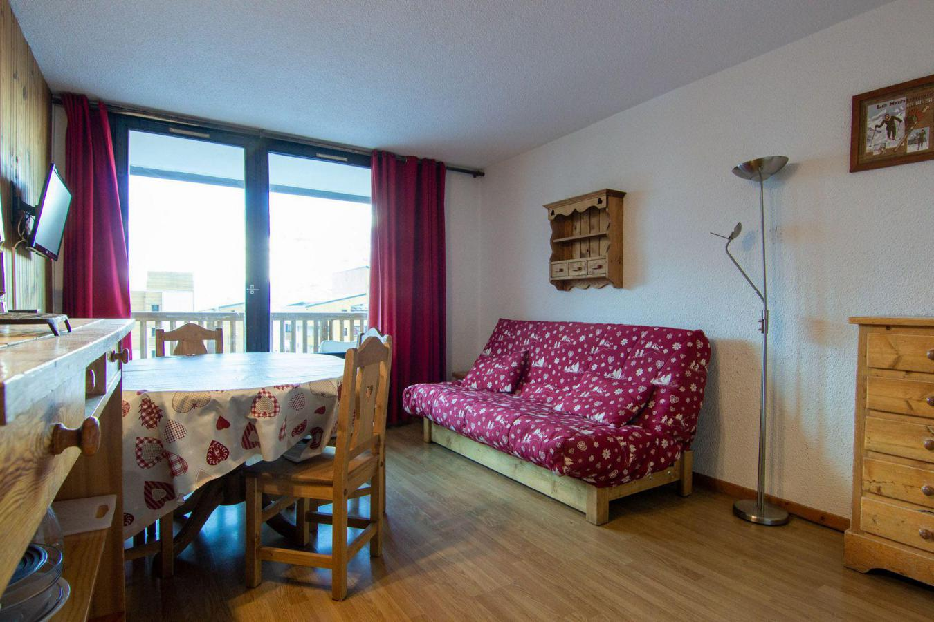 Location au ski Appartement 3 pièces 6 personnes (72) - Residence Roche Blanche - Val Thorens - Chambre