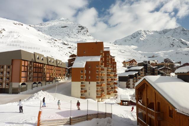 Location au ski Studio 2 personnes (159) - Residence Roche Blanche - Val Thorens - Extérieur hiver
