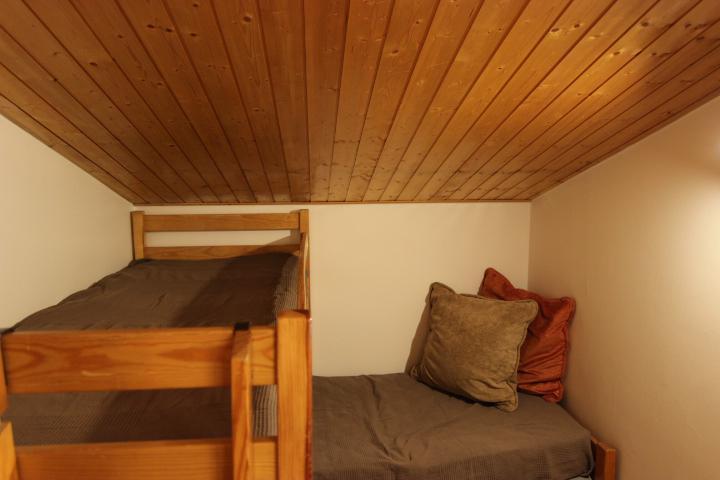 Location au ski Appartement 2 pièces mezzanine 6 personnes (75) - Residence Roche Blanche - Val Thorens - Extérieur hiver