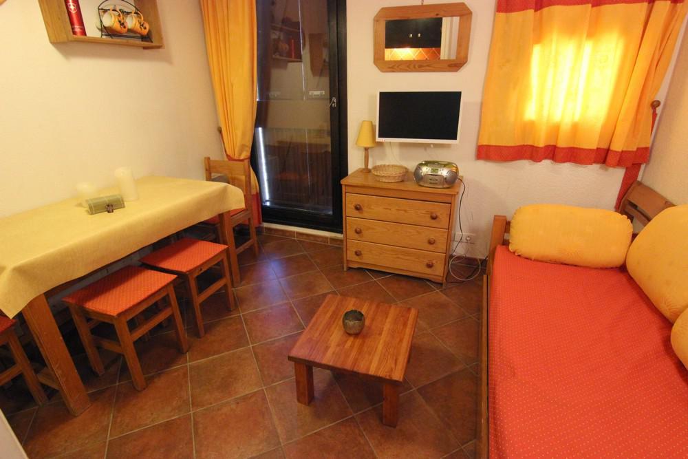 Location au ski Studio 2 personnes (124) - Residence Roche Blanche - Val Thorens - Lavabo