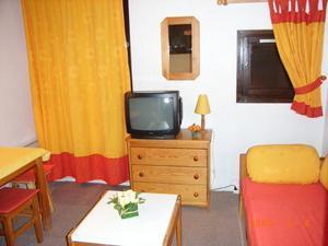 Location au ski Studio 2 personnes (124) - Residence Roche Blanche - Val Thorens - Séjour