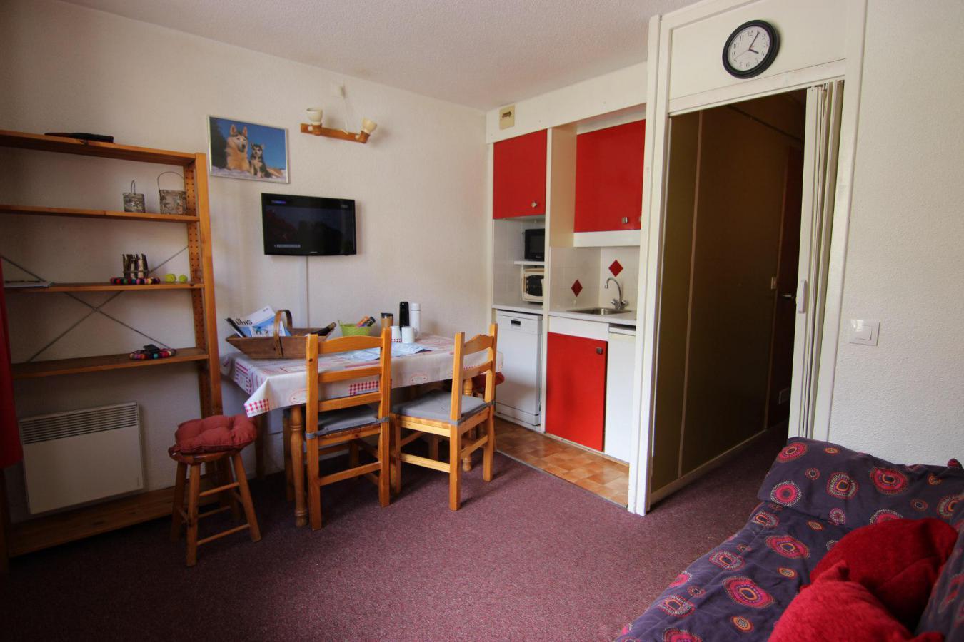 Location au ski Studio 2 personnes (125) - Residence Roche Blanche - Val Thorens - Séjour