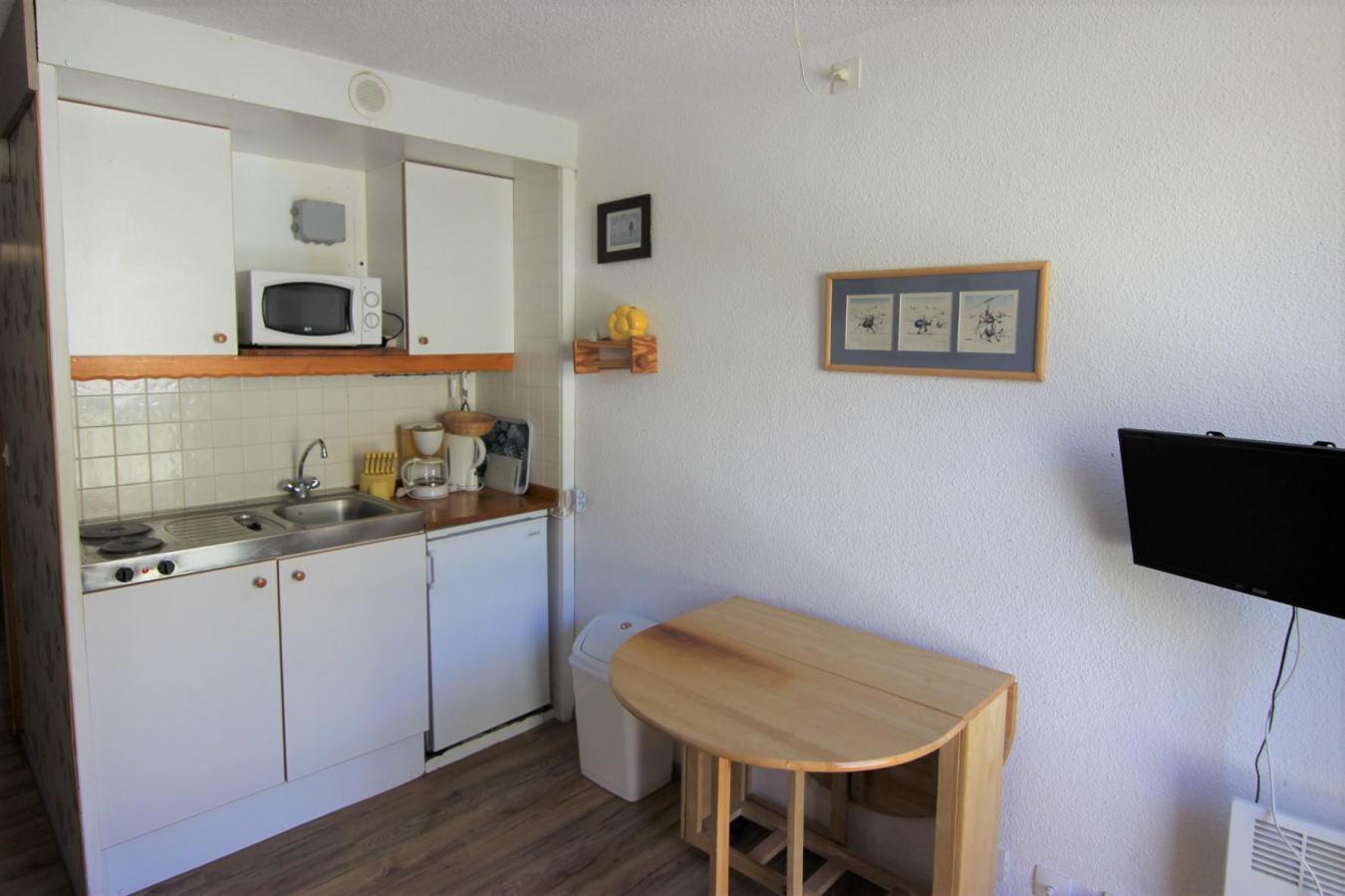 Location au ski Studio 2 personnes (126) - Residence Roche Blanche - Val Thorens - Séjour
