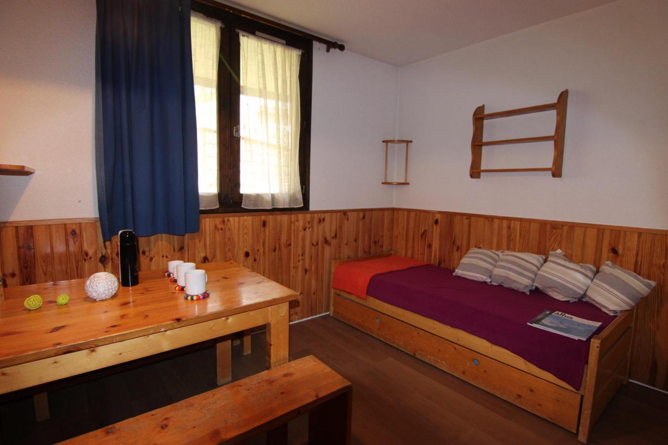 Location au ski Studio 2 personnes (145) - Residence Roche Blanche - Val Thorens - Lavabo