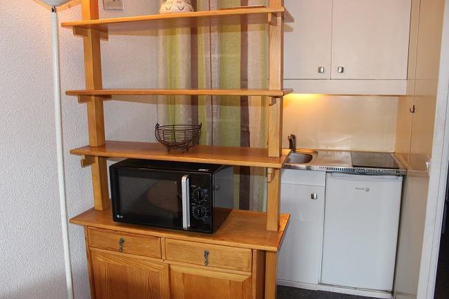 Location au ski Studio 2 personnes (153) - Residence Roche Blanche - Val Thorens - Kitchenette