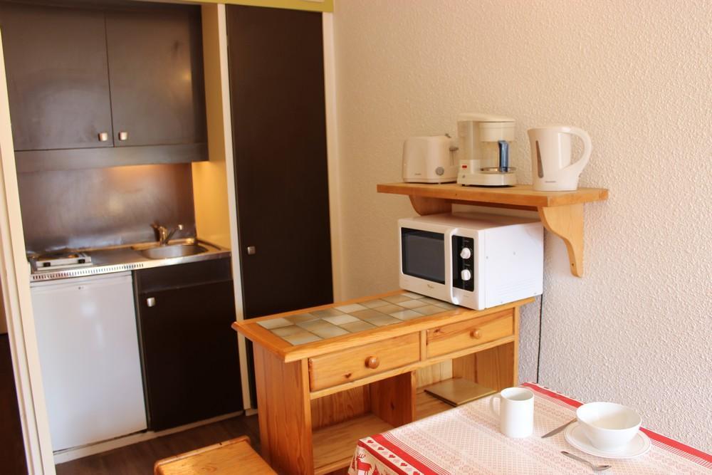 Location au ski Studio 3 personnes (60) - Residence Roche Blanche - Val Thorens - Table