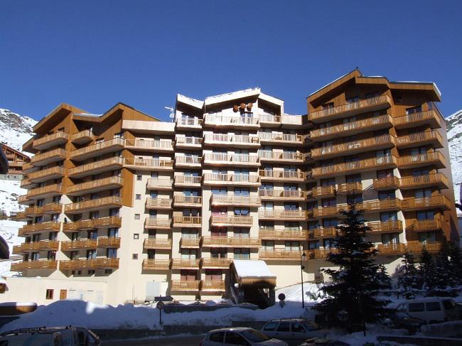 Location au ski Studio 4 personnes (103) - Residence Roche Blanche - Val Thorens - Canapé