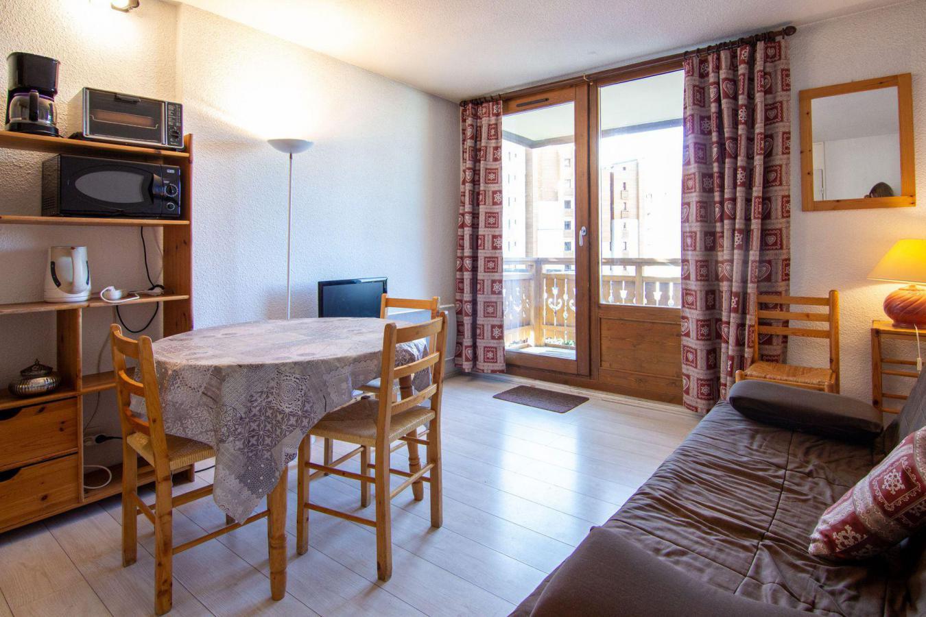 Location au ski Studio 4 personnes (103) - Residence Roche Blanche - Val Thorens - Kitchenette
