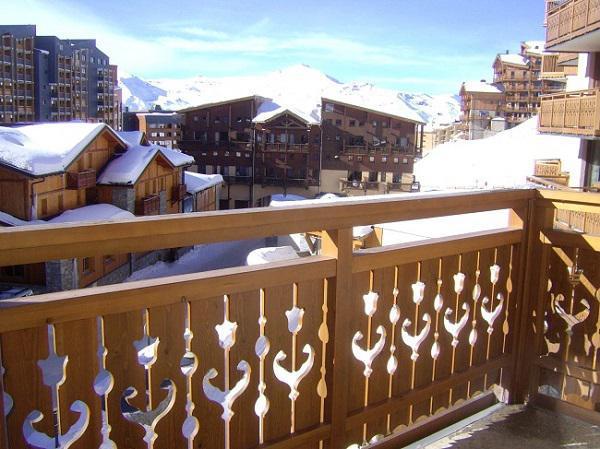 Location au ski Studio 4 personnes (103) - Residence Roche Blanche - Val Thorens - Table