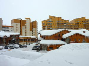 Location au ski Studio 4 personnes (84) - Residence Roche Blanche - Val Thorens - Table