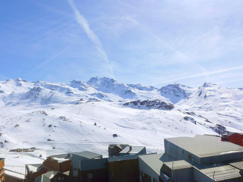 Location au ski Appartement 2 pièces cabine 4 personnes (17) - Arcelle - Val Thorens - Extérieur hiver