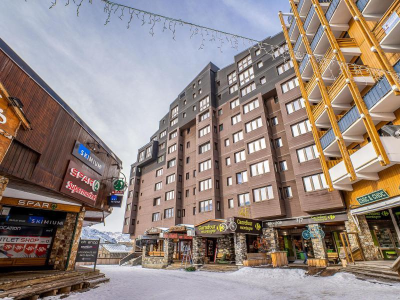 Location au ski Arcelle - Val Thorens - Extérieur hiver