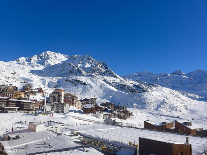 Location au ski Appartement 2 pièces cabine 4 personnes (16) - Arcelle - Val Thorens - Appartement