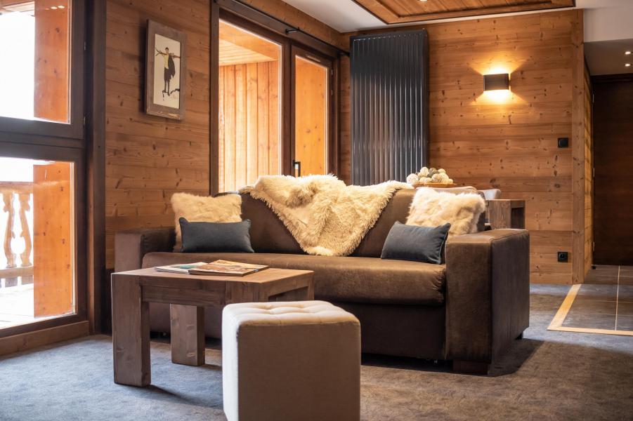 Skiverleih 3-Zimmer-Appartment für 4 Personen - Chalet Altitude - Val Thorens - Couchtisch
