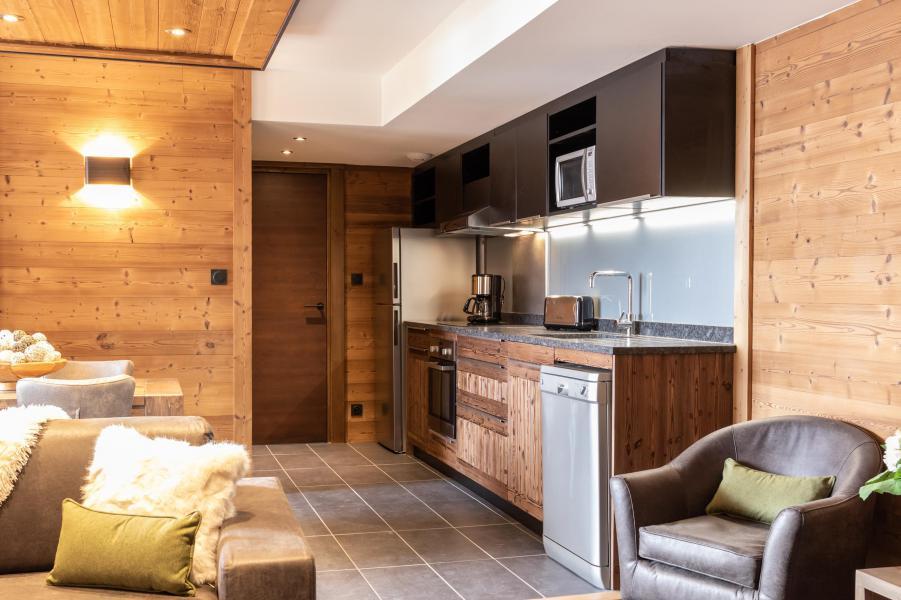 Skiverleih 3-Zimmer-Appartment für 4 Personen - Chalet Altitude - Val Thorens - Küche