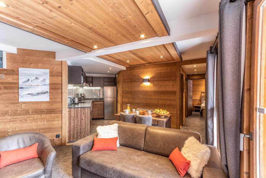 Skiverleih 3-Zimmer-Appartment für 4 Personen - Chalet Altitude - Val Thorens - Sitzbank