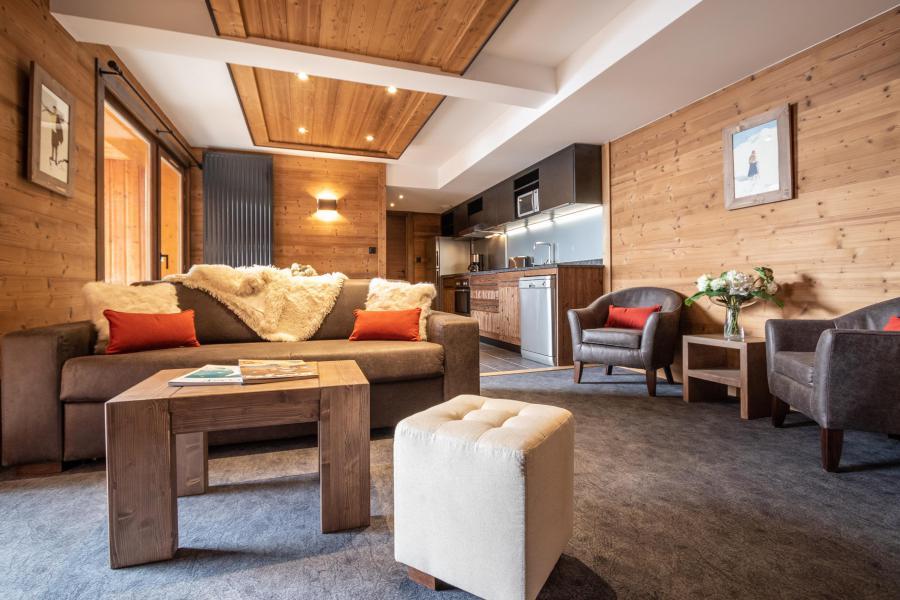 Skiverleih 3-Zimmer-Appartment für 4 Personen - Chalet Altitude - Val Thorens - Wohnzimmer