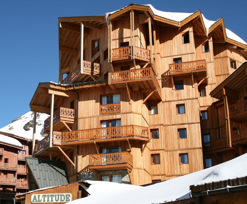 Location au ski Chalet Altitude - Val Thorens - Extérieur hiver