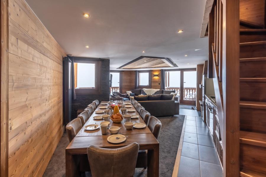 Alquiler al esquí Apartamento dúplex 7 piezas 12 personas - Chalet Altitude - Val Thorens - Mesa