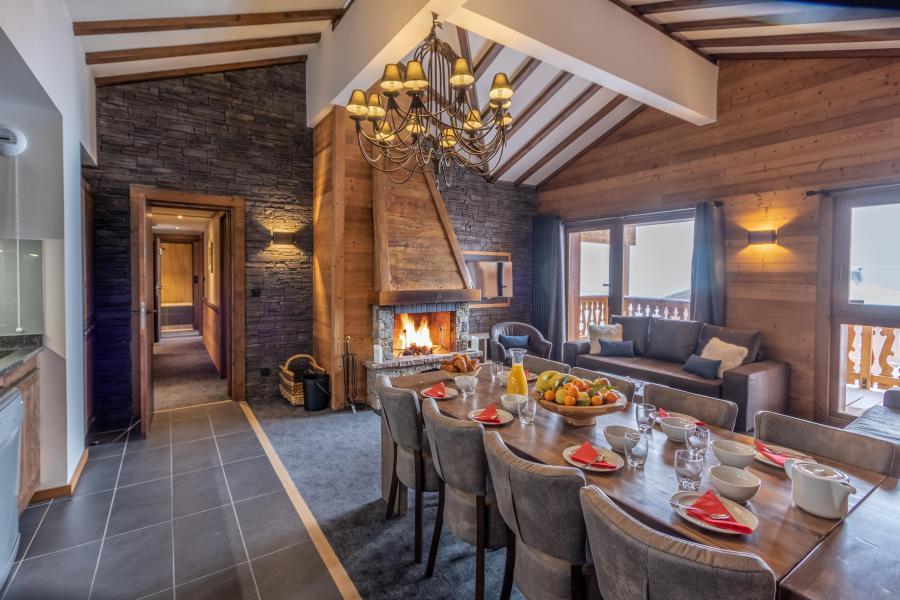 Location au ski Appartement 5 pièces 8 personnes - Chalet Altitude - Val Thorens - Séjour