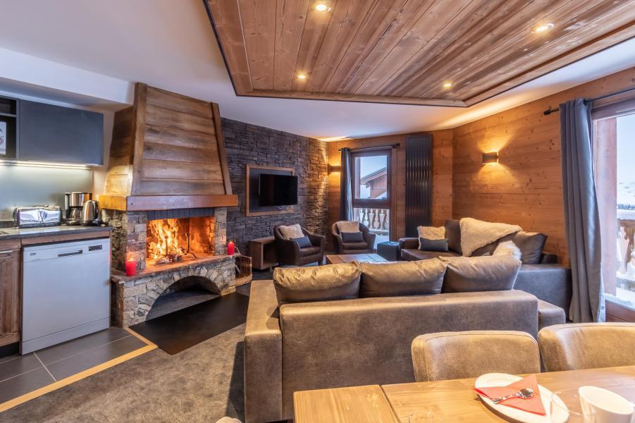 Location au ski Appartement 6 pièces 10 personnes - Chalet Altitude - Val Thorens - Salle à manger