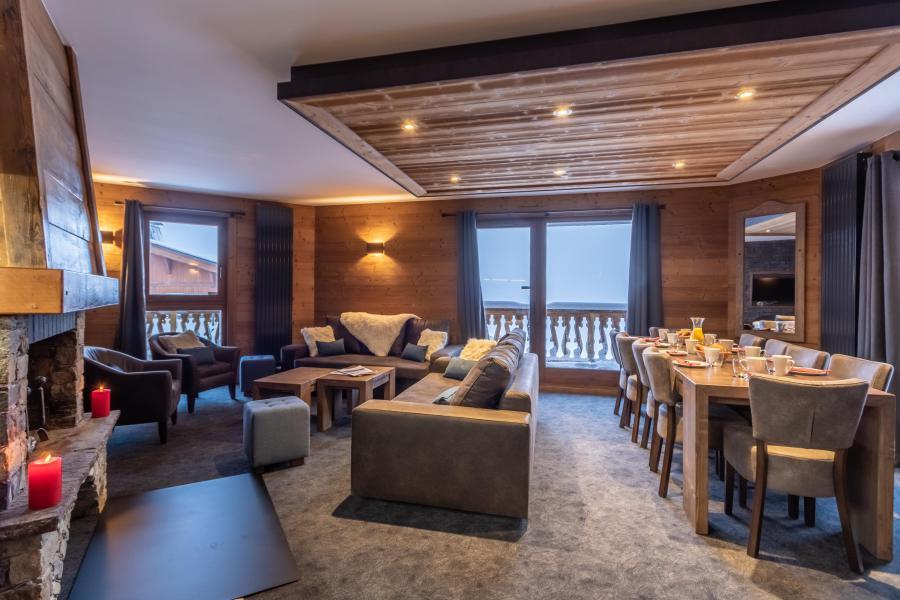 Location au ski Appartement 6 pièces 10 personnes - Chalet Altitude - Val Thorens - Séjour