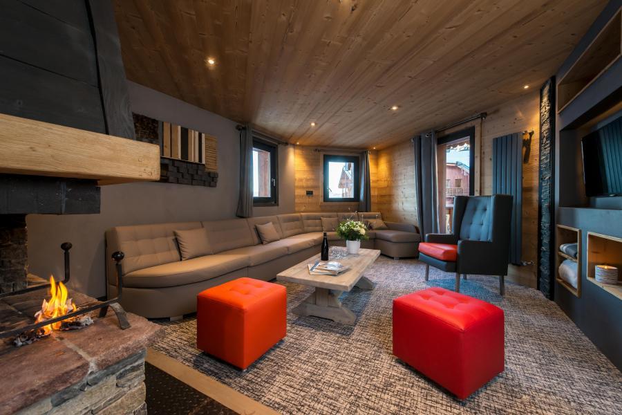 Location au ski Appartement 7 pièces 12-14 personnes - Chalet Altitude - Val Thorens - Séjour