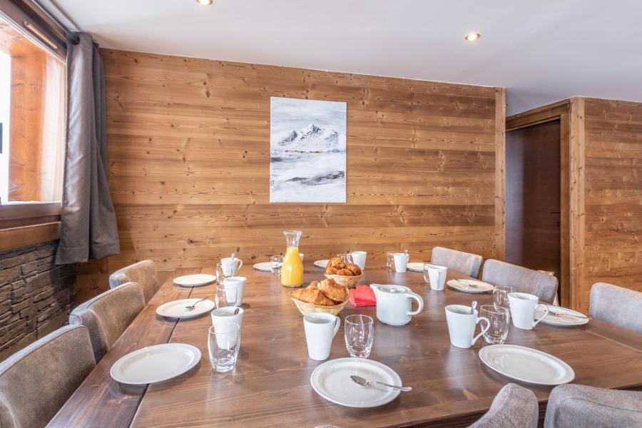 Location au ski Appartement duplex 6 pièces 10 personnes - Chalet Altitude - Val Thorens - Table